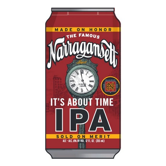 Narragansett beer s first rhode island brewed beer at the for Rhode island craft beer
