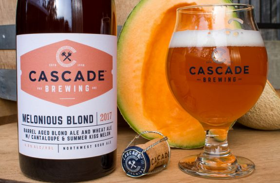 Cascade melonious blond available in bottles and on draft for Craft beer pubs near me